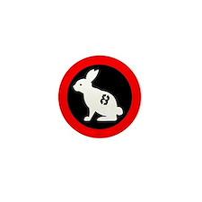 Bunny 8 Mini Button