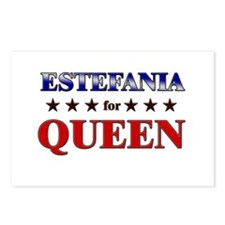 ESTEFANIA for queen Postcards (Package of 8)