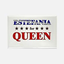 ESTEFANIA for queen Rectangle Magnet