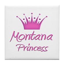 Montana Princess Tile Coaster