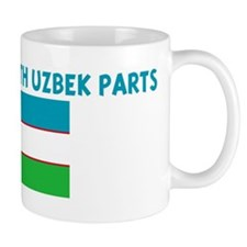MADE IN US WITH UZBEK PARTS Mug