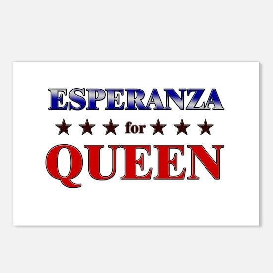 ESPERANZA for queen Postcards (Package of 8)