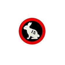 Bunny 15 Mini Button