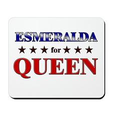 ESMERALDA for queen Mousepad