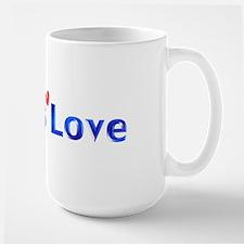 God Is Love Large Mug
