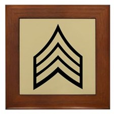 Sergeant<BR> Framed Tile