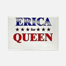ERICA for queen Rectangle Magnet