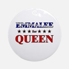 EMMALEE for queen Ornament (Round)