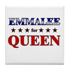 EMMALEE for queen Tile Coaster