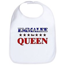 EMMALEE for queen Bib