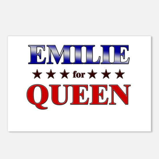EMILIE for queen Postcards (Package of 8)