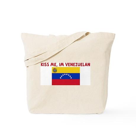 KISS ME IM VENEZUELAN Tote Bag