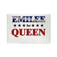 EMILEE for queen Rectangle Magnet