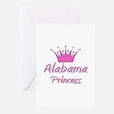 Alabama Princess Greeting Cards (Pk of 10)
