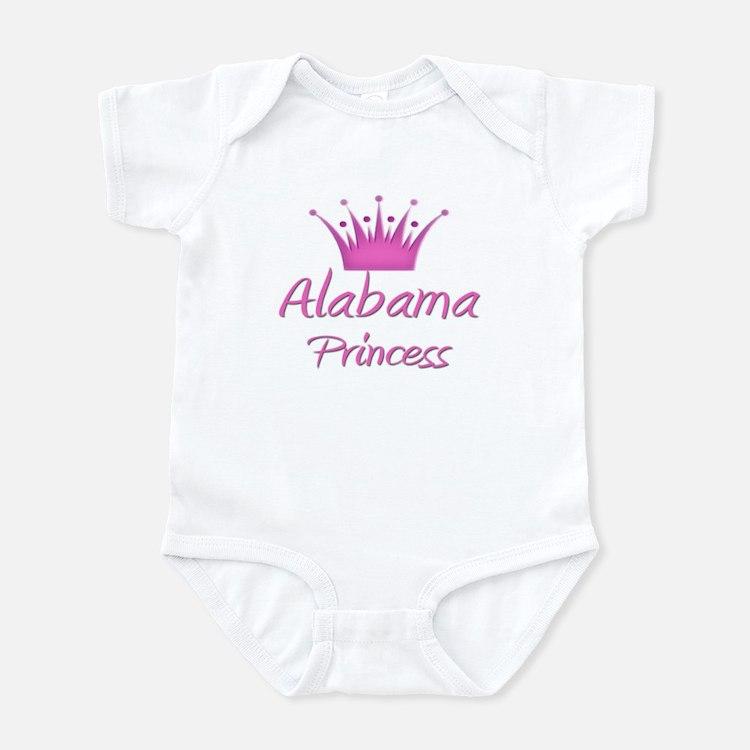 Alabama Princess Infant Bodysuit