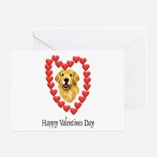 Valentine Dog Greeting Card