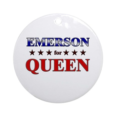 EMERSON for queen Ornament (Round)