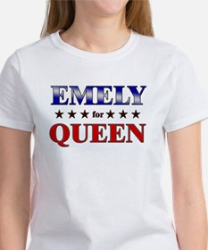 EMELY for queen Tee