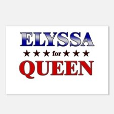 ELYSSA for queen Postcards (Package of 8)