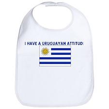 I HAVE A URUGUAYAN ATTITUDE Bib