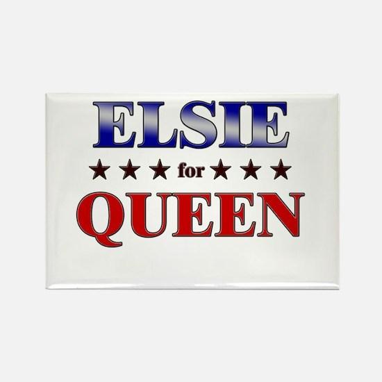 ELSIE for queen Rectangle Magnet
