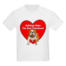 Bulldogs Make The Best Valent T-Shirt