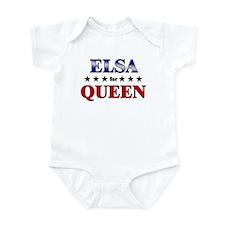 ELSA for queen Infant Bodysuit
