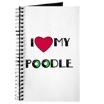 LOVE MY POODLE Journal