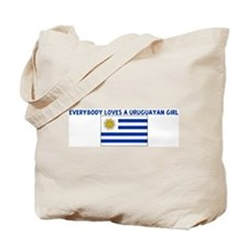 EVERYBODY LOVES A URUGUAYAN G Tote Bag