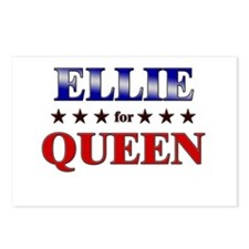 ELLIE for queen Postcards (Package of 8)