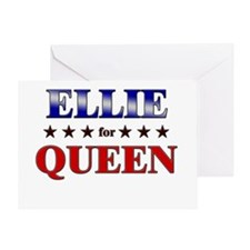 ELLIE for queen Greeting Card
