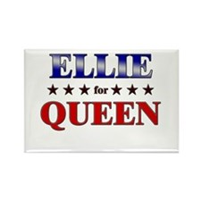 ELLIE for queen Rectangle Magnet