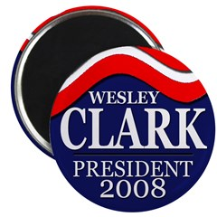 Wesley Clark in 2008 (10 magnets)