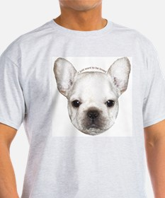 French Bulldog Puppy Ash Grey T-Shirt