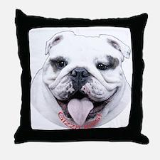 Bulldog Throw Pillow