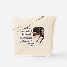 Spirit of Law Tote Bag