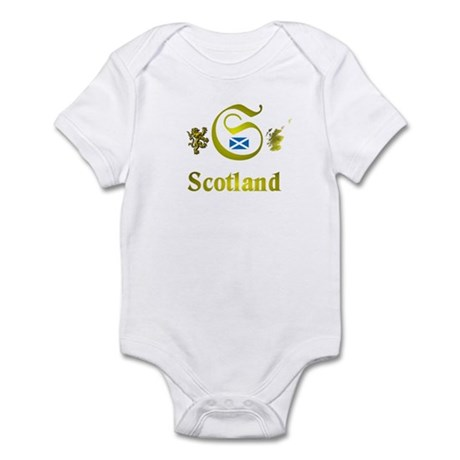 Dynamic Scotland. Infant Bodysuit