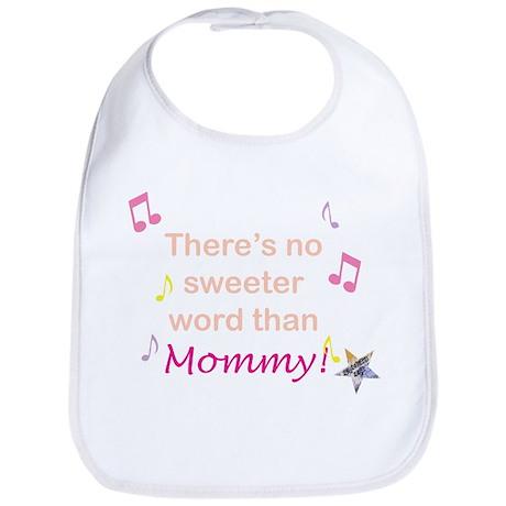 Pink Mommy Bib