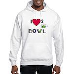 LOVE 2 BOWL Hooded Sweatshirt