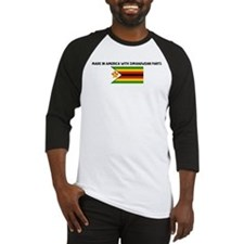 MADE IN AMERICA WITH ZIMBABWE Baseball Jersey