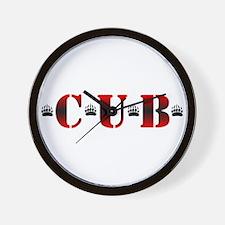 *C*U*B* Wall Clock