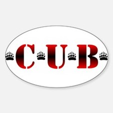 *C*U*B* Oval Decal