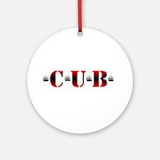 *C*U*B* Ornament (Round)