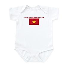 I LOVE MY VIETNAMESE MOM Infant Bodysuit