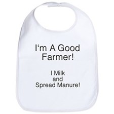 A Good Farmer Bib