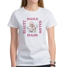 Beauty Salon Hair & Nails Tee