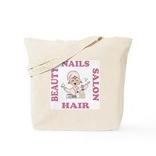 Beauty Salon Hair & Nails Tote Bag