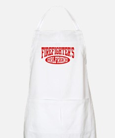 Firefighter's Girlfriend BBQ Apron
