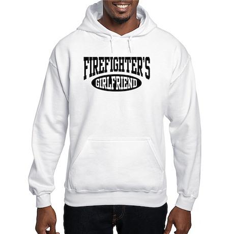 Firefighter's Girlfriend Hooded Sweatshirt