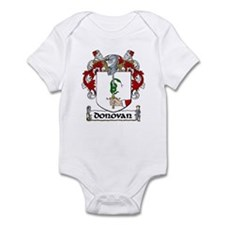 Donovan Coat of Arms Infant Creeper